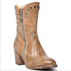 NEW Bed Stu Onrush Tan Boots Size 6